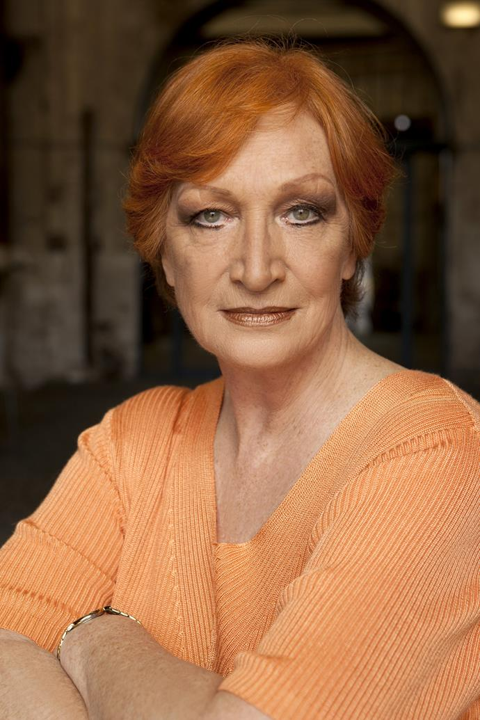 The late Cornelia Frances.