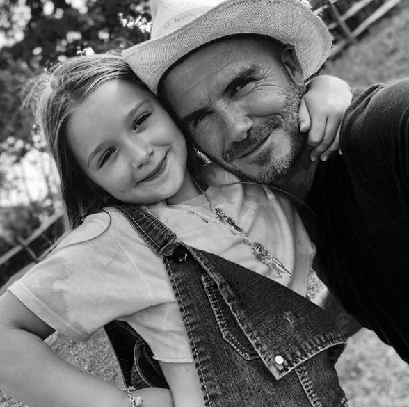 The cutest daddy-daughter duo we ever did see.