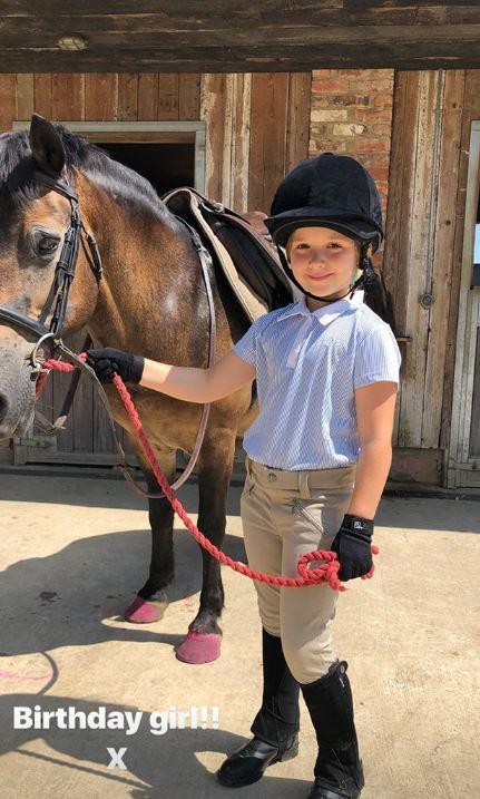 A birthday pony for the birthday girl!