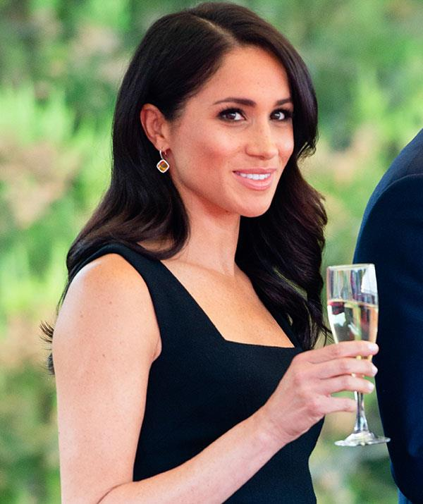 Meghan Markle is indeed glowing, but when isn't she tbh?