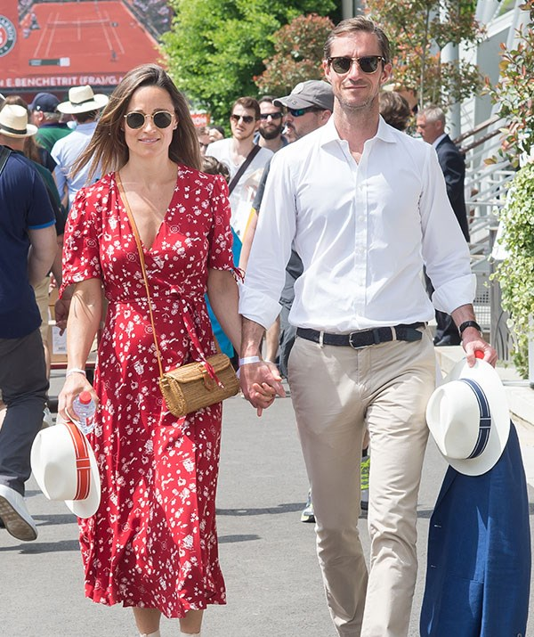 The Duchess of Cambridge's younger sister confirmed she was expecting her first child last month.
