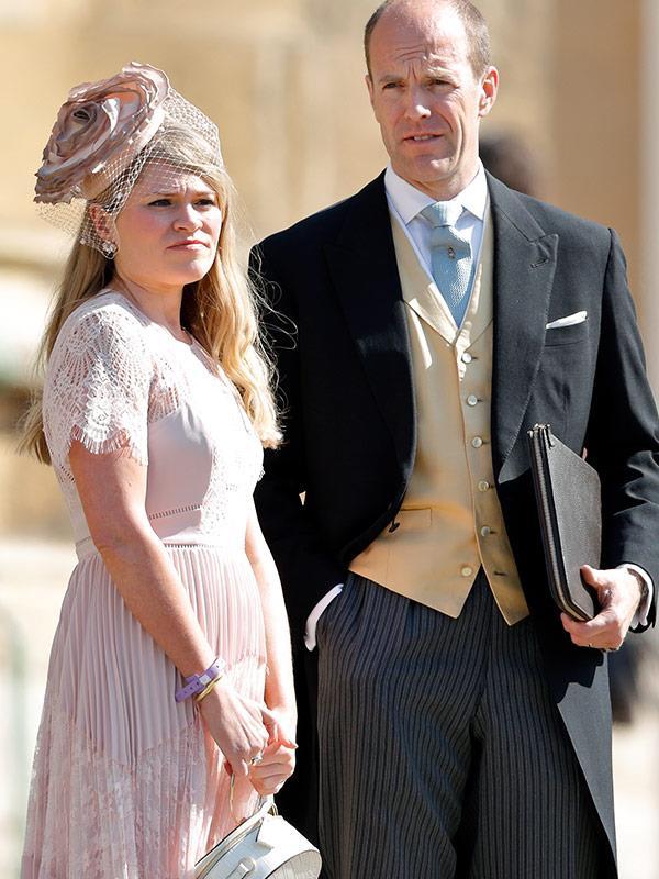 Prince Harry's Private Secretary Ed Lane Fox and Meghan's Assistant Private Secretary Amy Pickerill.