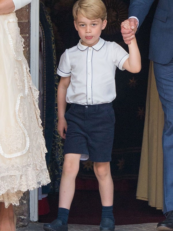 Gorgeous George in his trademark shorts has grown up before our eyes.