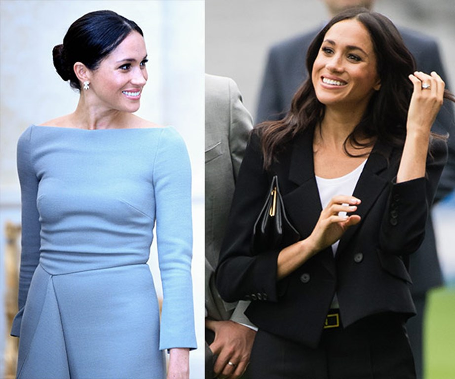 From formal to casual - Meghan shows us that she is chic no matter the dress code.
