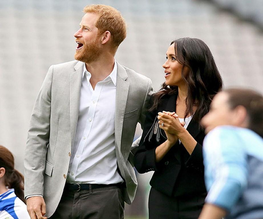Harry seems mighty pleased.