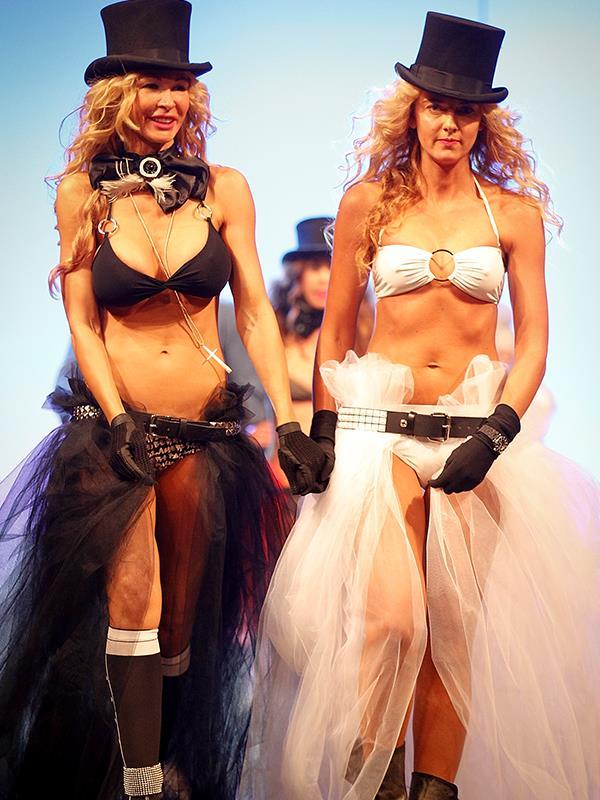 Nicola (left) had a crazy former-life as a party-girl.