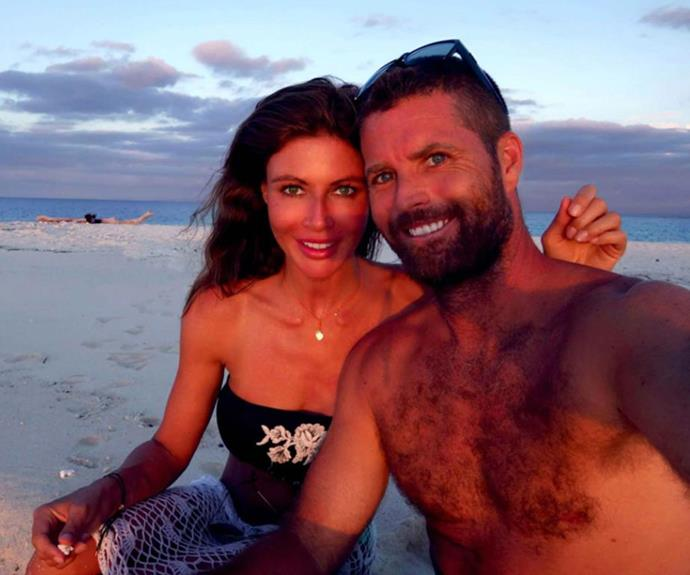 Nicola Robinson, formerly Nicky Watson, and her husband Pete Evans.