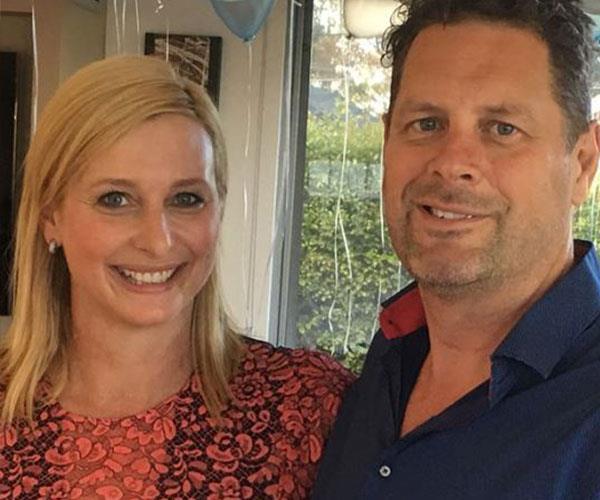 """I feel so lucky I met him but I wish I met him earlier,"" Joh says of her husband Todd Huggins."