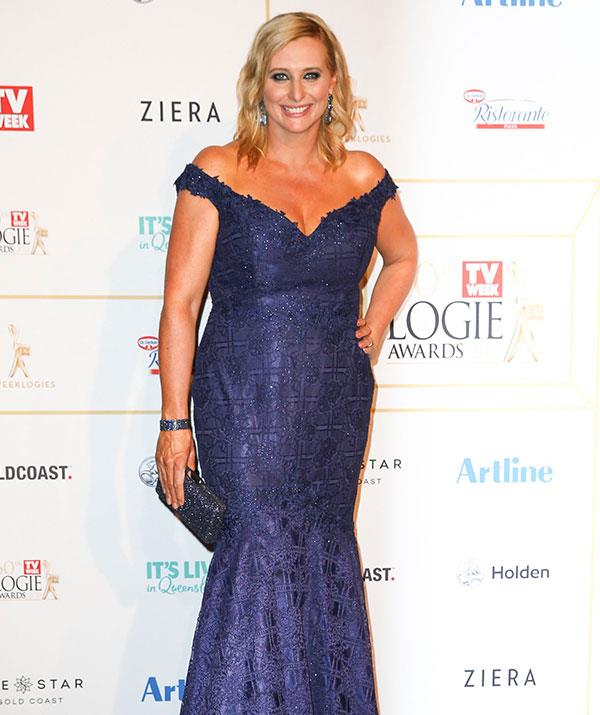 Joh looked flawless at this year's TV WEEK Logie Awards.