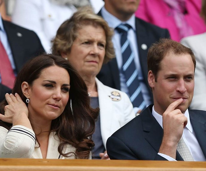 Kate is a Wimbledon Patron and has been attending the event for years.
