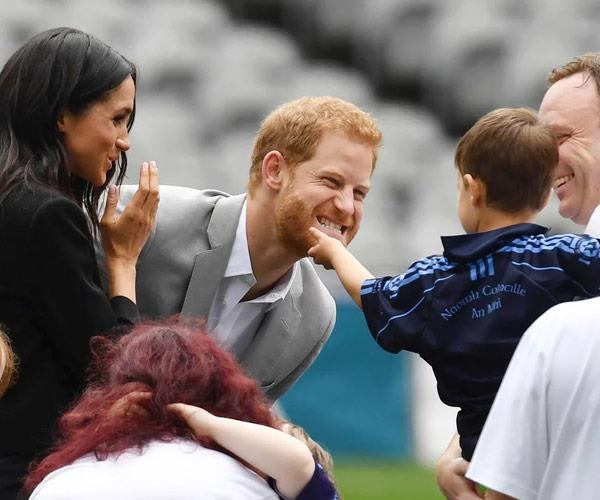 There's no denying Prince Harry will be an amazing father. *(Image: Getty)*