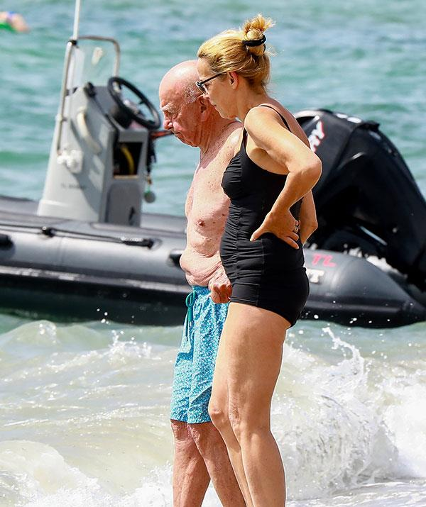 The French Rivera - and his wife Jerry - seem to have Rupert back on track.