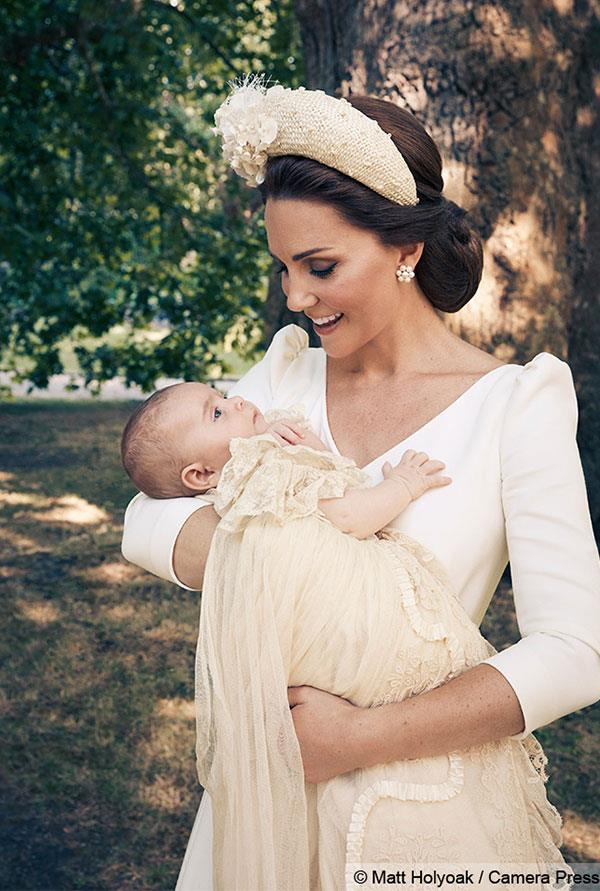 Pure joy! Catherine just adores her perfect prince.