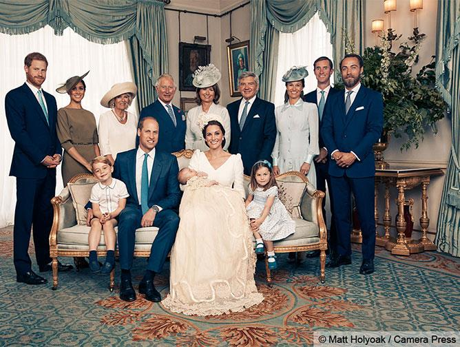 Welcome to the family, Prince Louis. The Middletons and the Royals gather around the new prince.