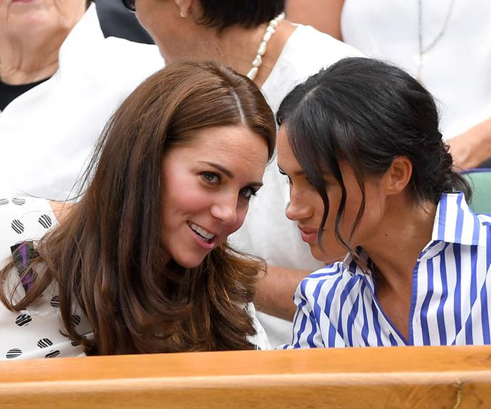 Royal watchers were keen to see the Duchess' close bond.