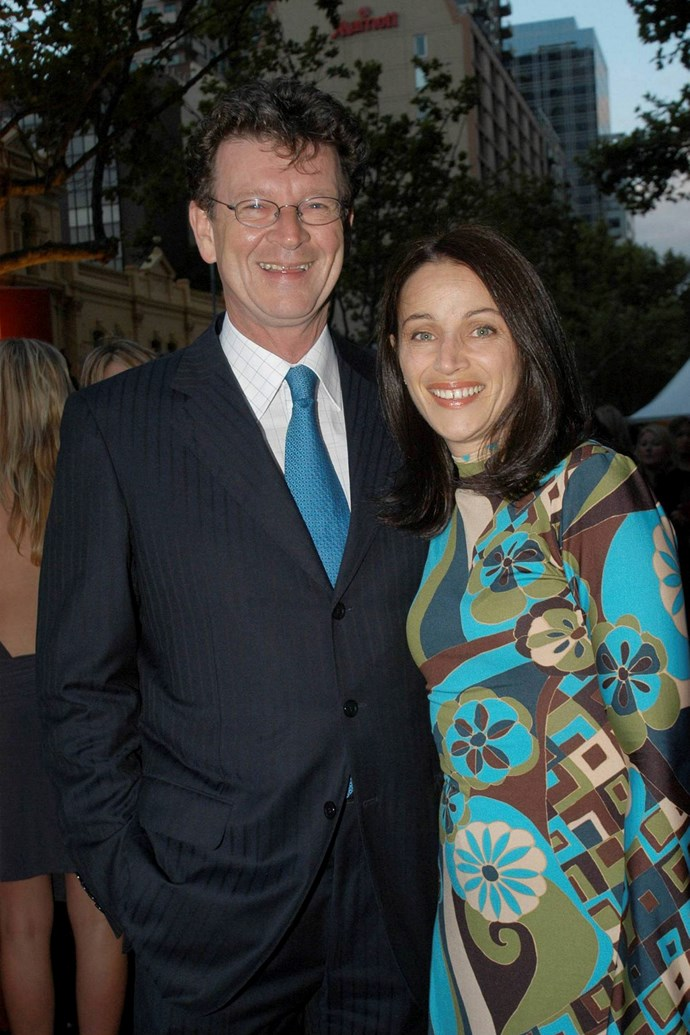 Red Symons with his ex-wife Elly Symons.