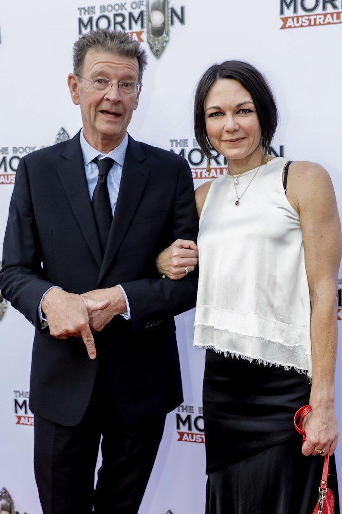 The former Skyhooks guitarist has been dating Karen Hitchcock.
