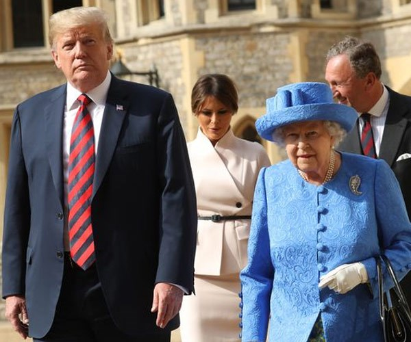 Thomas Markle didn't appreciate it when the Queen met with Donald Trump and not him.