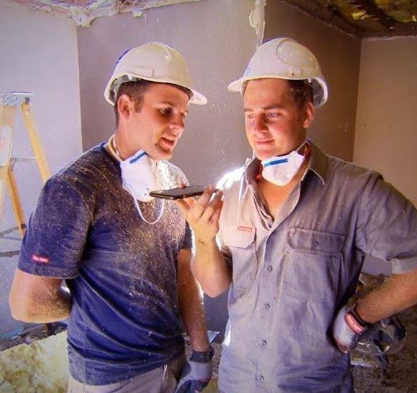 Mother knows best! The boys consulted their mama bear when renovating Lee and Kristie's place.