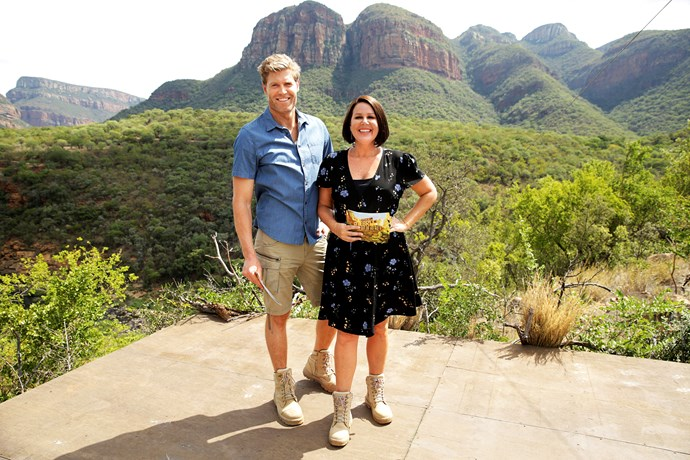 Julia Morris and Dr Chris Brown are hoping I'm A Celebrity... Get Me Out Of Here! will return.
