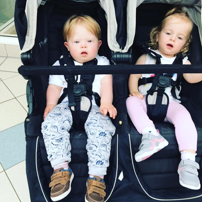 The twins are now healthy, happy and love spending time together.  **Facebook: twinsmylifeupsidedowns**