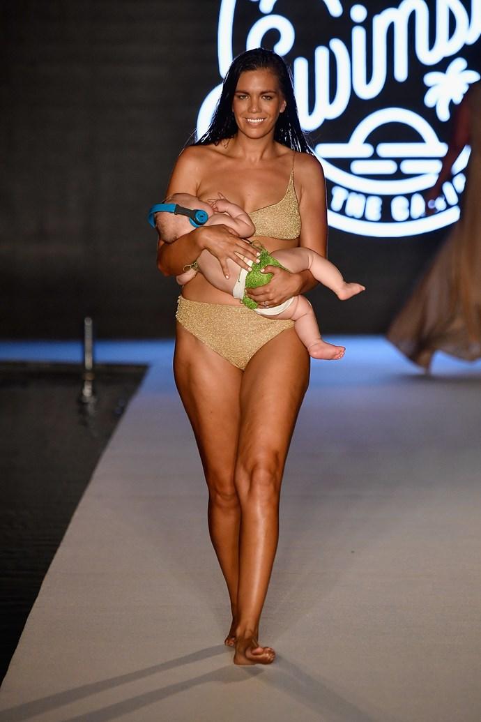 Mara Martin and Aria rocked the runway!