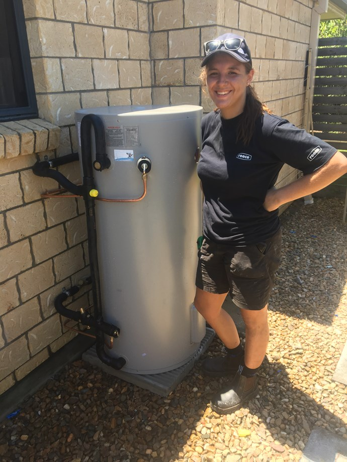 Nicole enjoys plumbing's variety and mental and physical challenges and most of all, being able to quickly solve customers' plumbing problems.