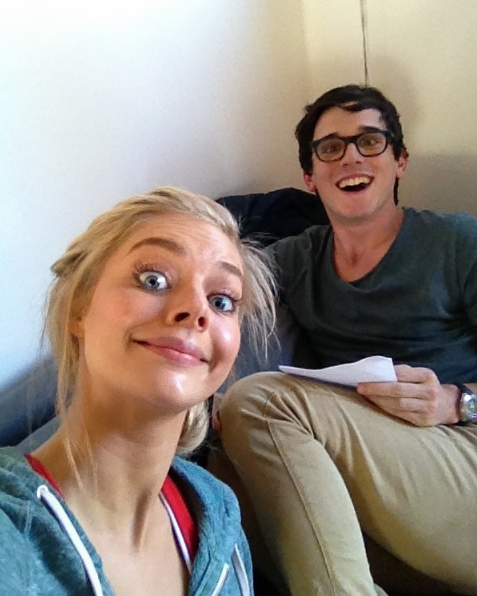 Samara Weaving shared this photo with Charles Cottier just yesterday.