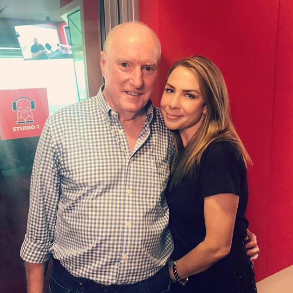 Kate Richie brought legendary *Home and Away* star Ray Meagher on to her radio show earlier this year.
