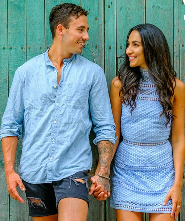 Love Island Australia winners Tayla Damir and Grant Crapp. *Source OK!*