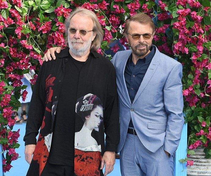Benny Andersson and Bjorn Ulvaeus revealed details of possibly three new ABBA tracks at the London premiere of *Mamma Mia! Here We Go Again*.