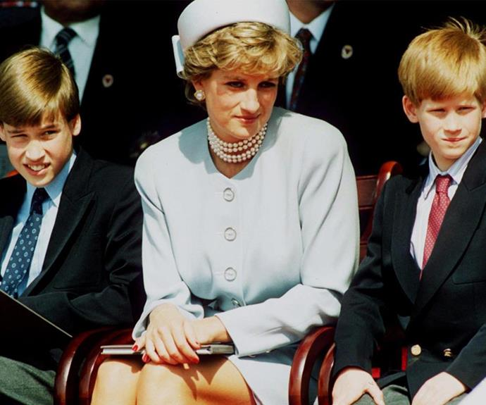 """She'd be a nightmare grandmother, absolute nightmare. She'd love the children to bits, but she'd be an absolute nightmare,"" Prince William joked last year of his mother."