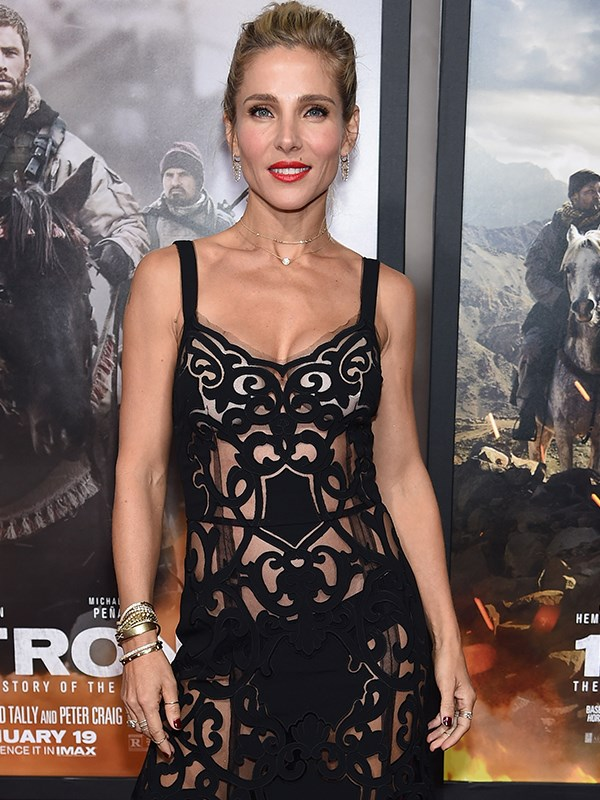Talk about fitspo! Elsa Pataky has one incredible figure.