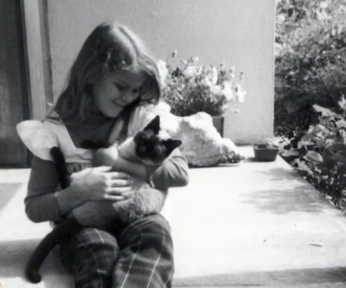 Terri was an animal lover from a young age.