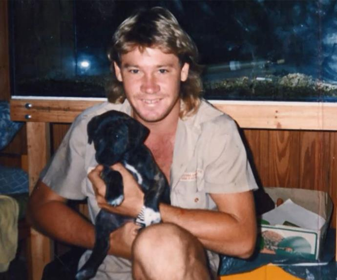 After Steve joked his dog was his girlfriend, Terri knew he was the one for her.