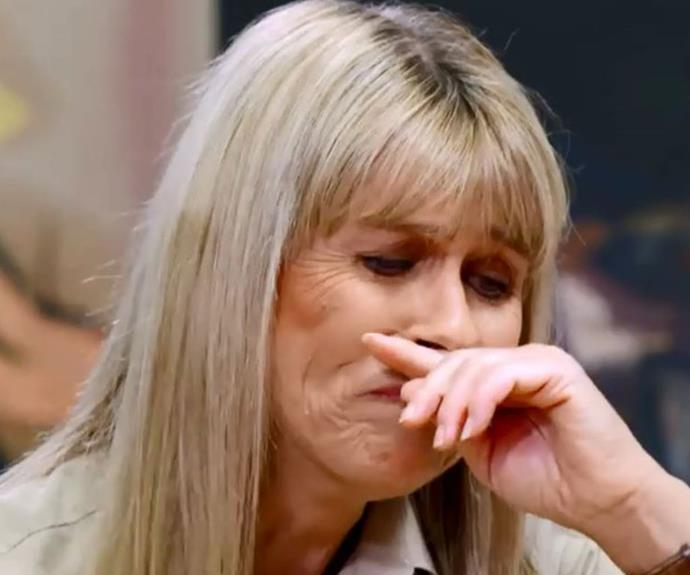 Terri breaks down as she remembers the last time she saw Steve.