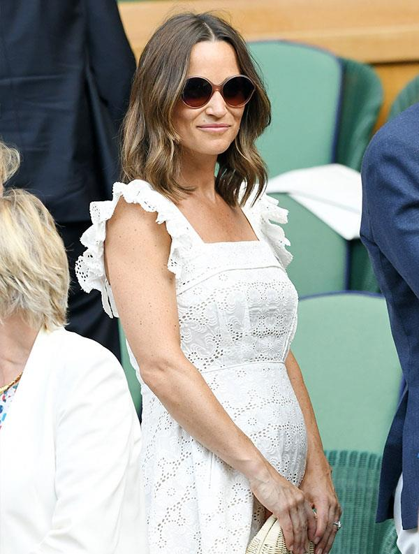 The countdown is on! It's believed Pippa will give birth in October.