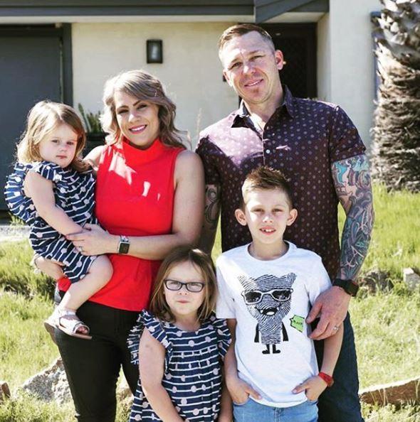 Chiara and David have three children, Seth, eight, Taya, six, and Ellie Mae, three.