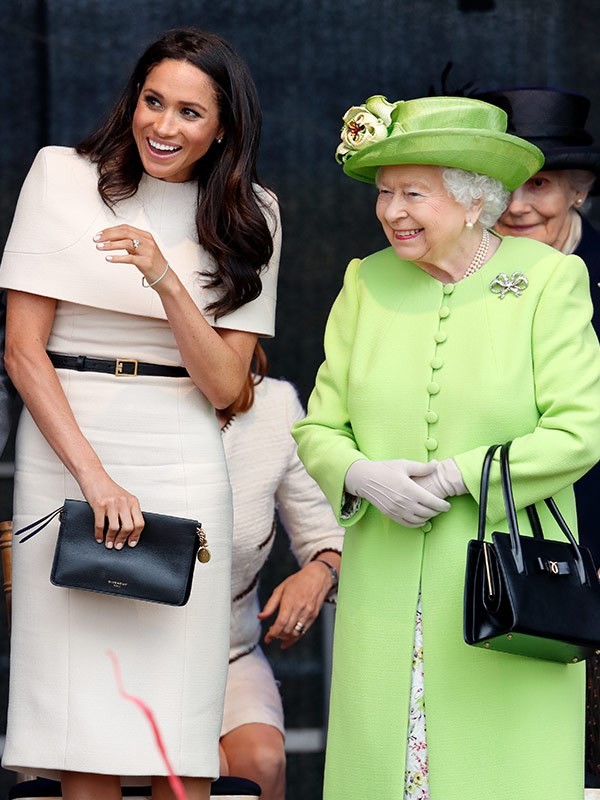 Queen Elizabeth really likes her new granddaughter-in-law!