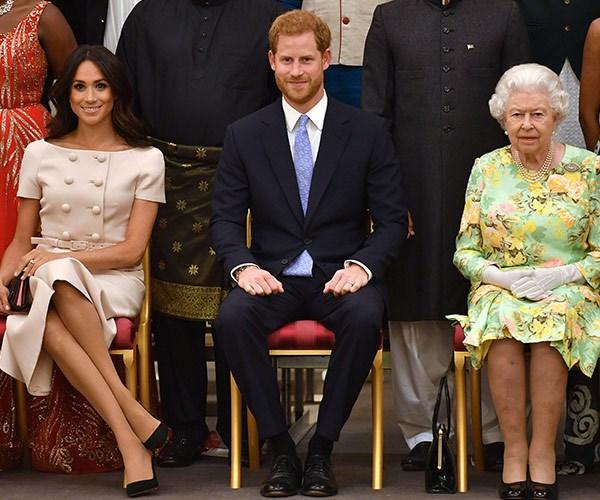 It's clear Her Majesty has beome a huge fan of Harry's Duchess.