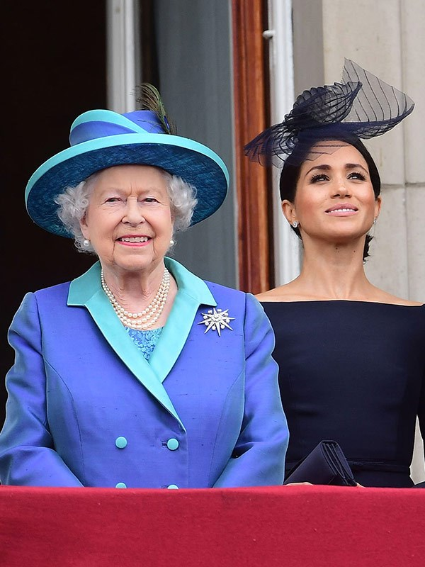 The Duchess of Sussex received a royal masterclass with The Queen.