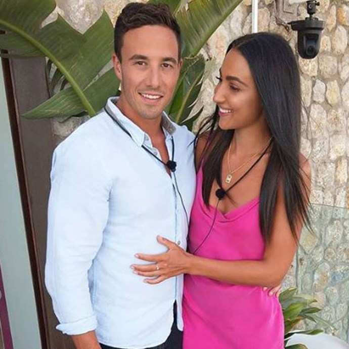 *Love Island* winners, Tayla Damir and Grant Crapp in happier times.