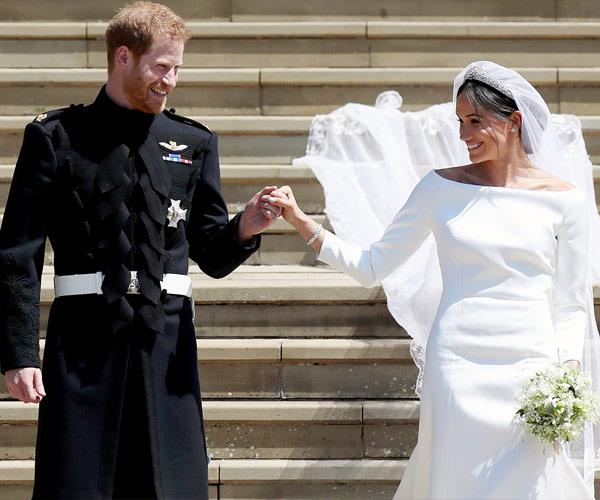 The couple tied the knot back in May.