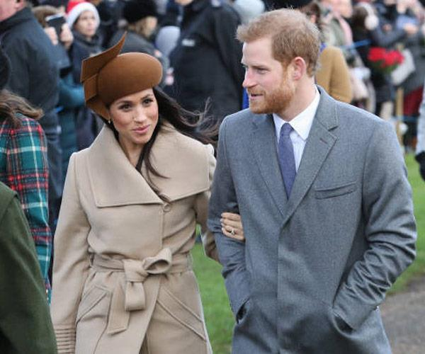 And we couldn't have felt any more jolly after seeing the engaged pair step out for the royal Christmas service.
