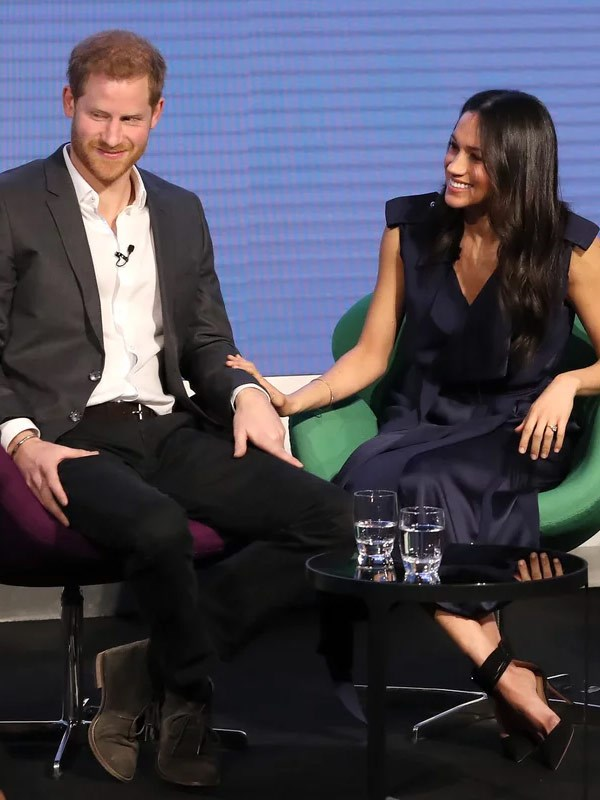 We got a look into what Meghan and Harry would be like as a working couple when they attended a Heads Together forum earlier in the year.