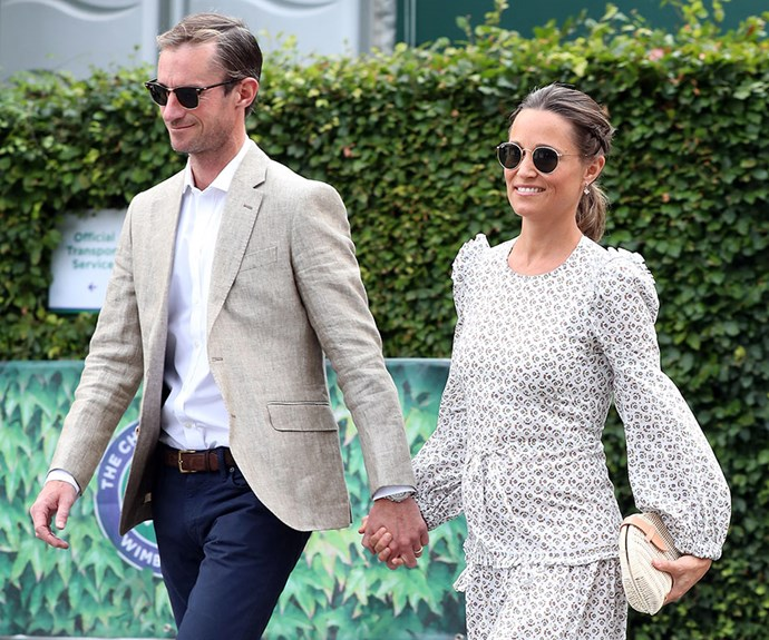 Following in Kate's footsteps? Pippa Middleton could be joining the royals for her own babymoon.