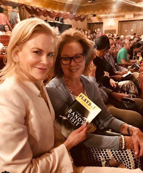 Nicole and Janelle hit up Broadway for some mother daughter time.