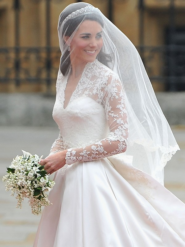 Catherine Middleton married Prince William on 29th April 2011.