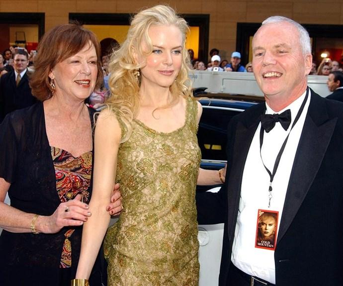 The Kidman family was rocked by the death of Nicole's dad, Antony Kidman, in 2014.