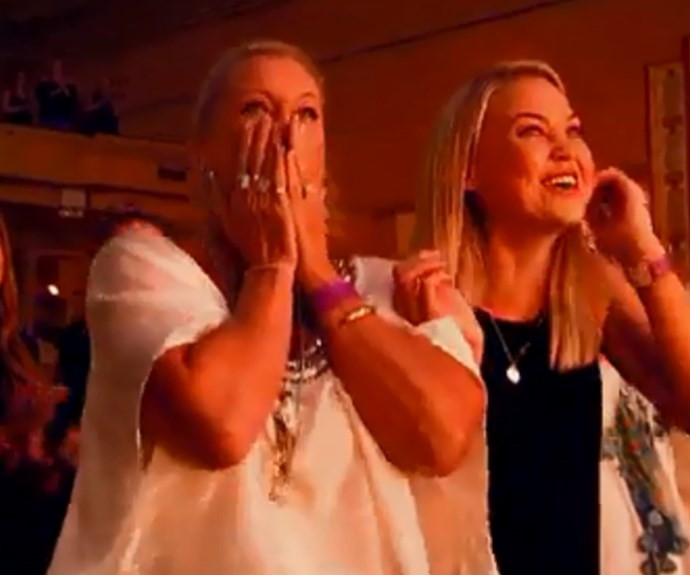 Shock horror! Jett's mum Lisa Curry's reaction during her son's performance!
